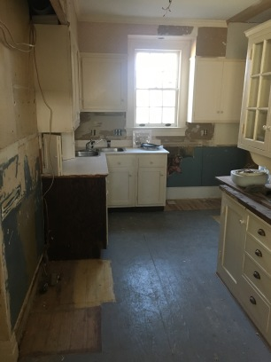 New laundry room (view from the backdoor)