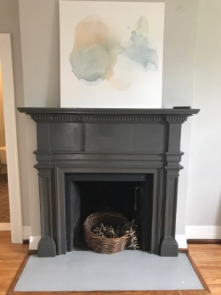 Master Bedroom Mantel: $350